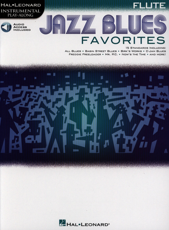 Jazz Blues Favorites - Flute | buy now in Stretta sheet