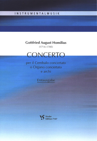 Gottfried August Homilius: Concerto