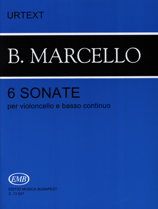 Benedetto Marcello: 6 Sonaten