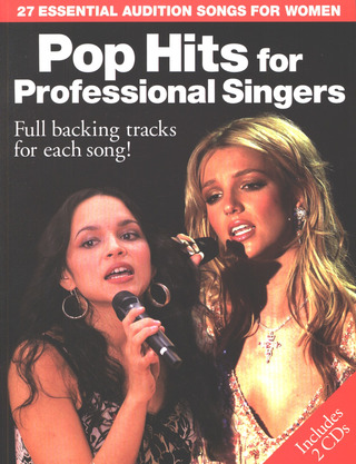 Pop Hits For Professional Female Singers Bk/2Cd