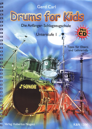 Carl Gerd: Drums For Kids 1 - Unterstufe