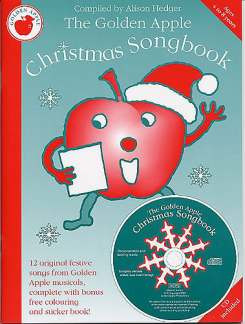 Alison Hedger: Golden Apple Christmas Songbook/Colouring-In Book & Stickers Bk/Cd
