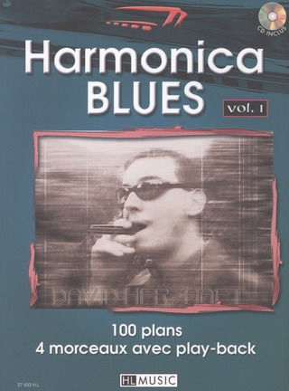 Herzhaft David: Harmonica Blues 1 - 100 Plans