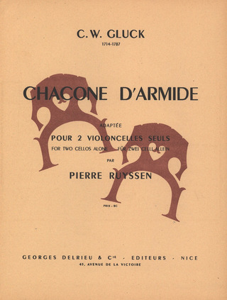 Christoph Willibald Gluck: Chacone D'Armide