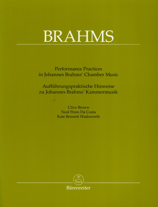 Clive Brown et al.: Performing Practice in Brahms Chamber Music