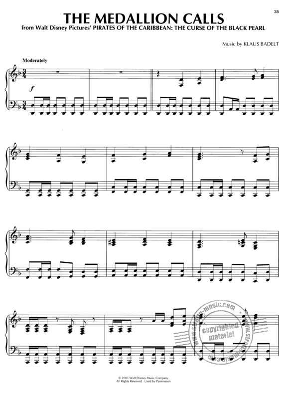 Hans Zimmer: Piano Play-Along 69: Pirates of the Caribbean (4)