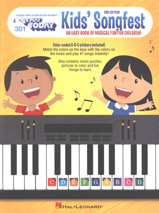 E-Z Play Today 301: Kid's Songfest – 2nd Edition