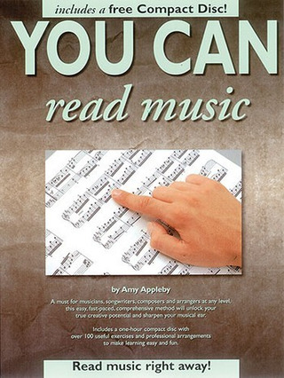 You Can Read Music! Bk/Cd