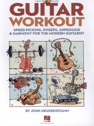 Richard Grünwald: Guitar Workout - Speed Picking, Sweeps, Arpeggios And Harmony For The Modern Guitarist