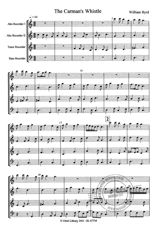 William Byrd: The Carman's Whistle + Lord Willobie's Welcome Home (2)