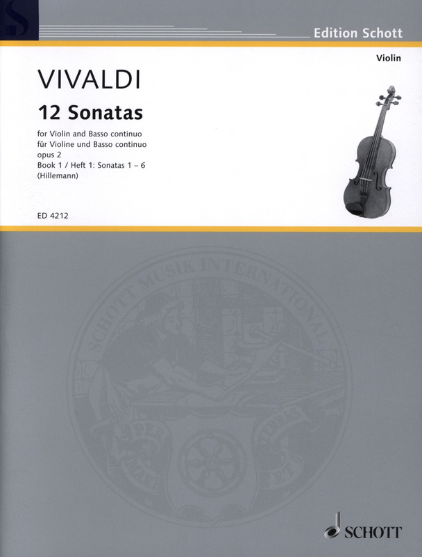 12 Sonaten Op 2 From Antonio Vivaldi Buy Now In Stretta Sheet Music Shop