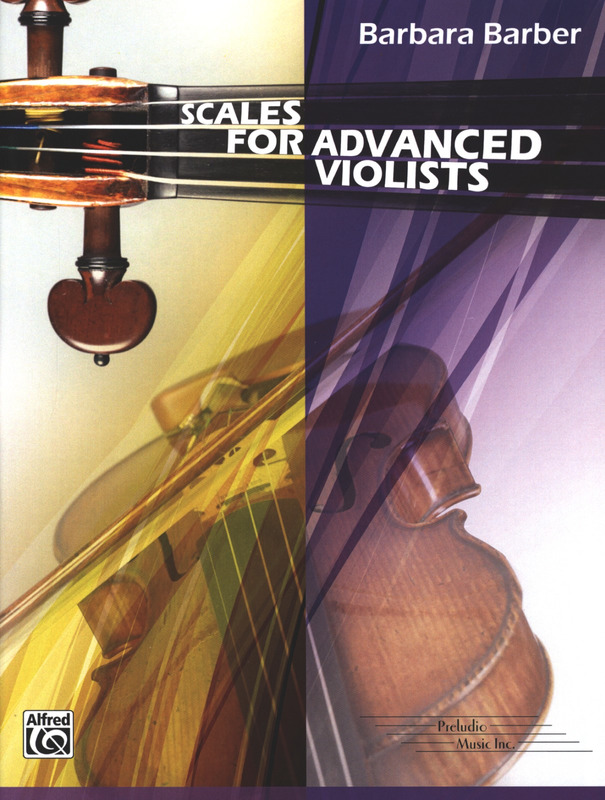 Barbara Barber: Scales for Advanced Violists