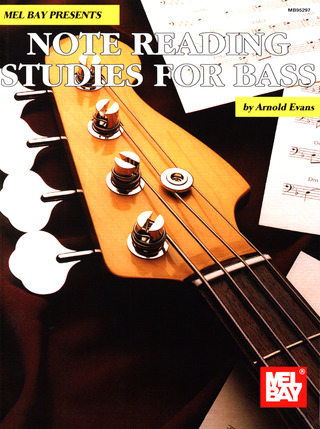 Evans A.: Note Reading Studies For Bass