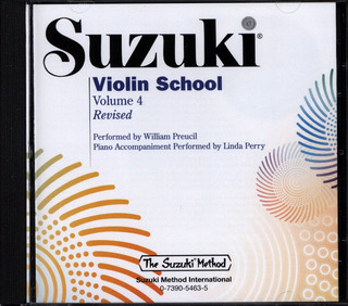 Shin'ichi Suzuki: Suzuki: Violin School Volume 4 - Accompanying CD