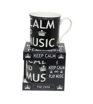Tasse - Keep calm and play music