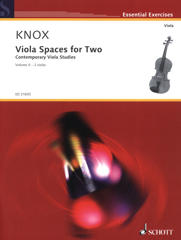 Garth Knox: Viola Spaces for Two
