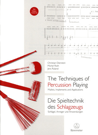 Christian Dierstein et al.: The Techniques of Percussion Playing