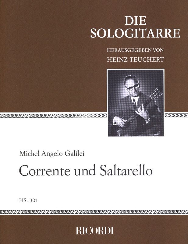 Galilei Michel Angelo: Corrente und Saltarello