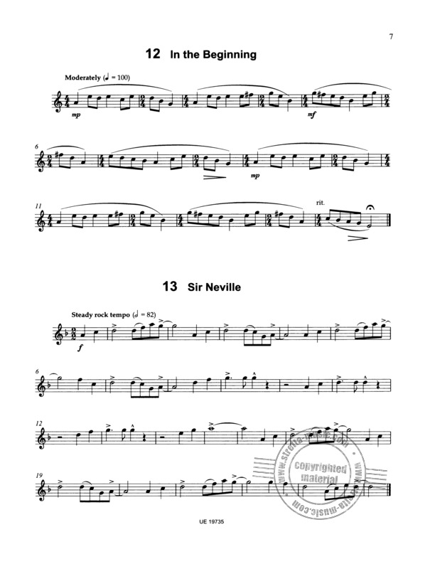 James Rae: 40 Modern Studies for Solo Clarinet (2)