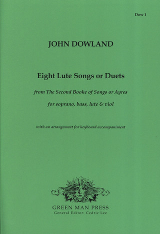 John Dowland: 8 Lute Songs Or Duets (Second Book Of Songs + Ayres)