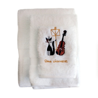 Towels Rosina Wachtmeister Musical Cat