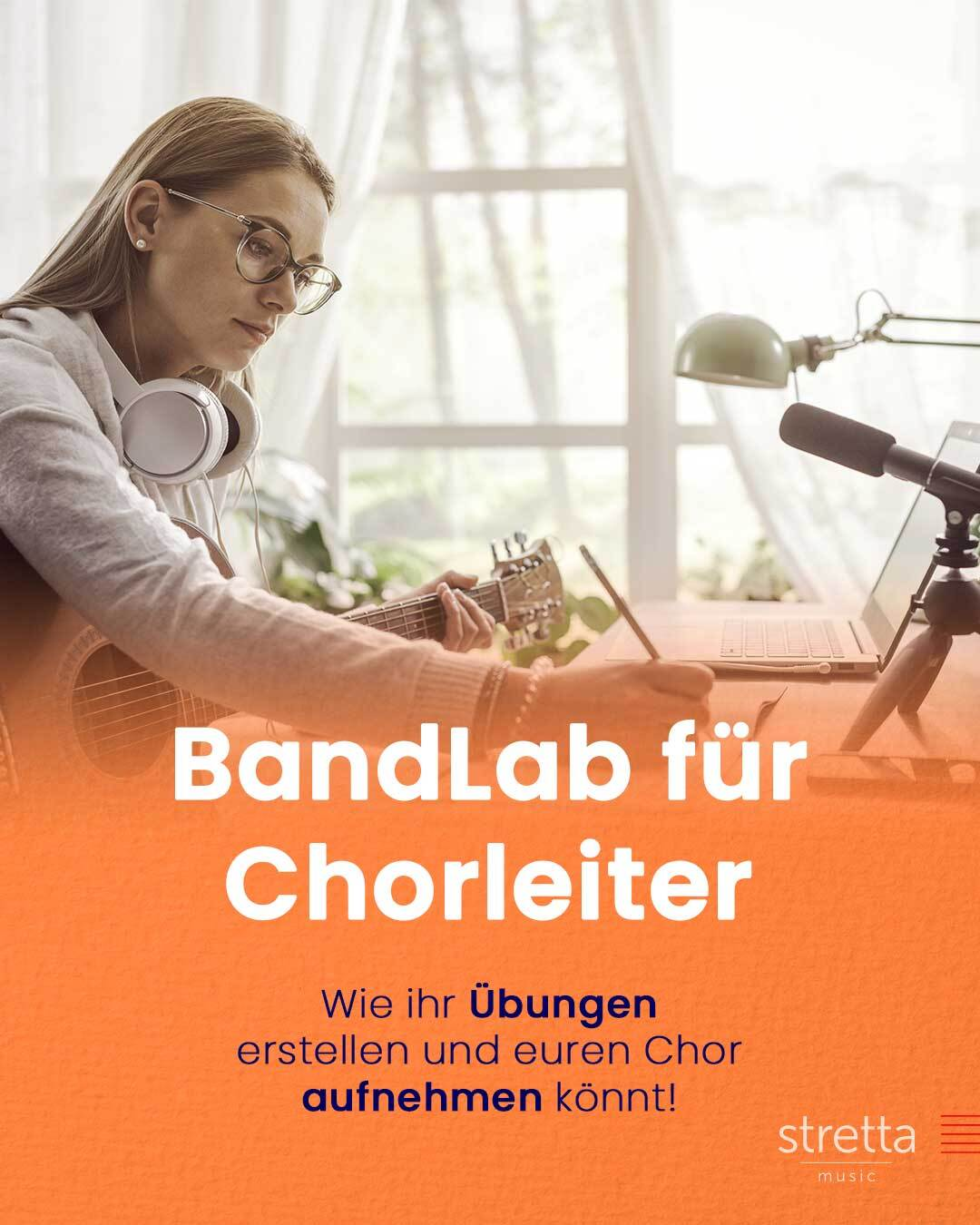 BandLab, ein kostenloses Tool zum Aufnehmen und wie Chorleiter es auch anders nutzen können