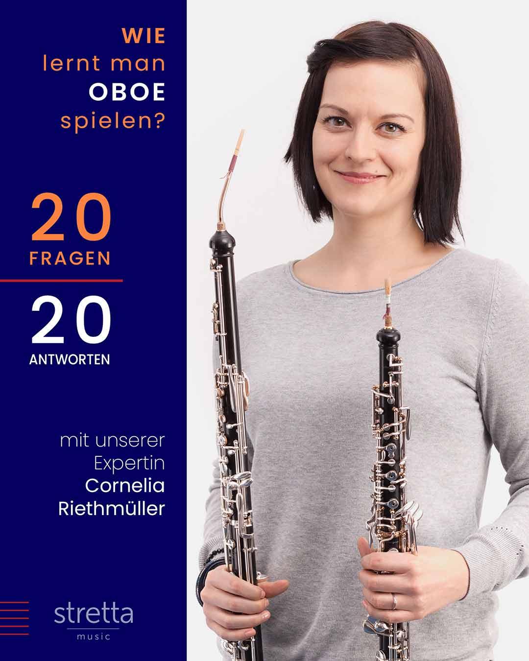 Oboe lernen – 20 Fragen an Cornelia Riethmüller
