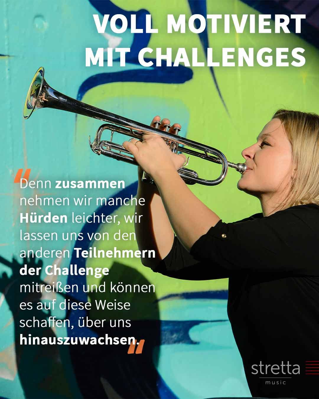 Voll motiviert musizieren mit Challenges