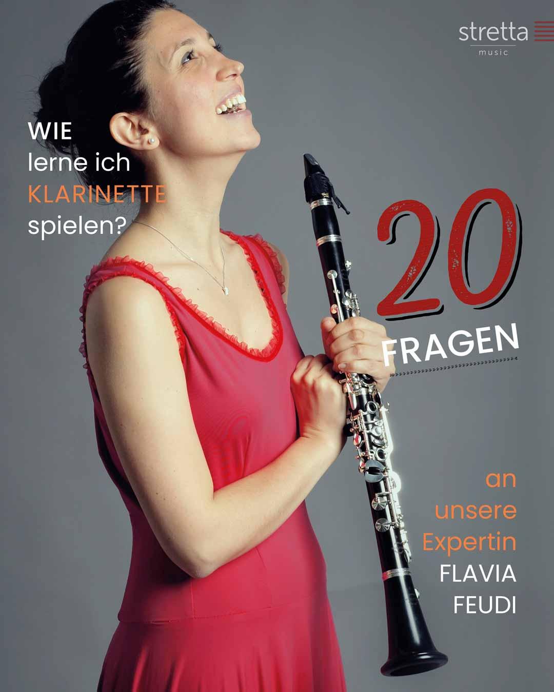 Klarinette lernen – 20 Fragen an Flavia Feudi
