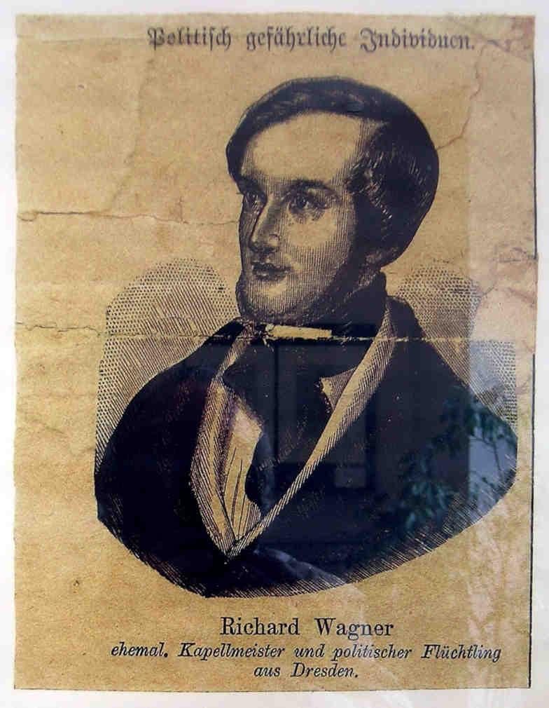 Richard Wagner Steckbrief 1853