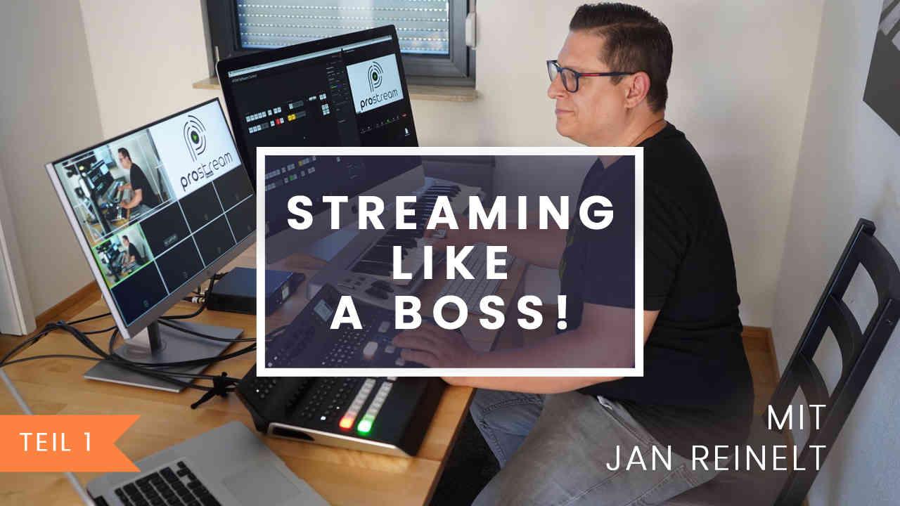 Equipment für professionelles Streaming